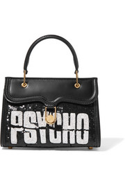 Olympia Le-Tan Psycho embellished leather tote