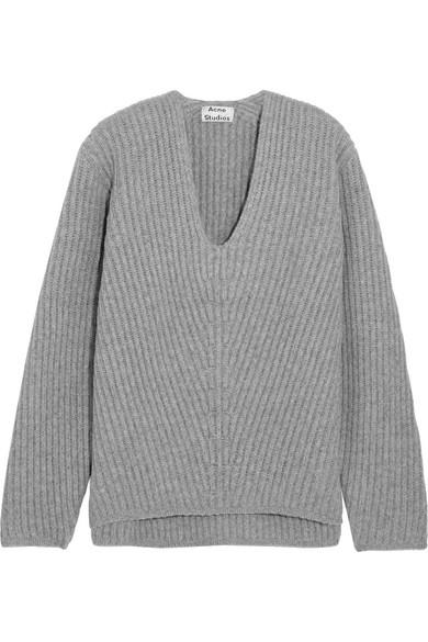 c79fb0db8996f Acne Studios. Deborah oversized ribbed wool sweater