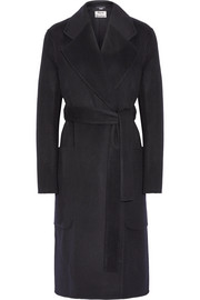 Carice oversized wool and cashmere-blend coat
