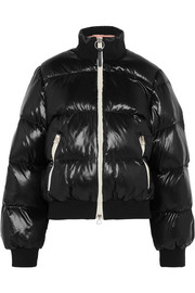 Cilla quilted shell down jacket