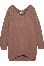 Acne Studios Deka oversized ribbed wool sweater