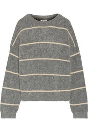 Acne Studios Rhira striped knitted sweater