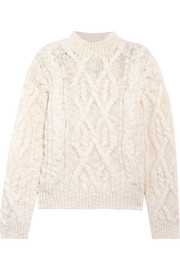 Acne Studios Edyta cable-knit wool sweater