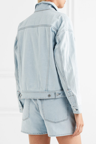 Acne Studios Lamp Jeansjacke in Oversized-Passform