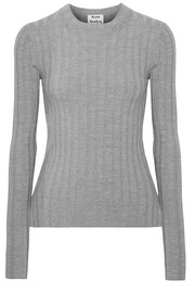 Acne Studios Carina ribbed wool-blend sweater