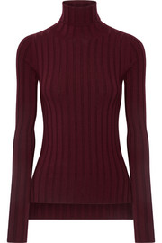 Acne Studios Corina ribbed merino wool-blend turtleneck sweater