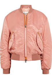 Clea shell bomber jacket