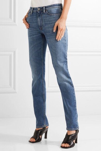 South Mid-rise Straight-leg Jeans - Mid denim Acne Studios Genuine Cheap Price Sale Best Prices Outlet Store Online Cheap Pre Order Sale Online Shopping 4xKqVlMxqR