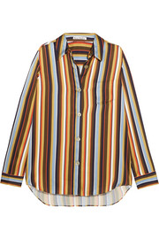 Buse striped satin shirt