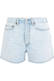 Swamp denim shorts