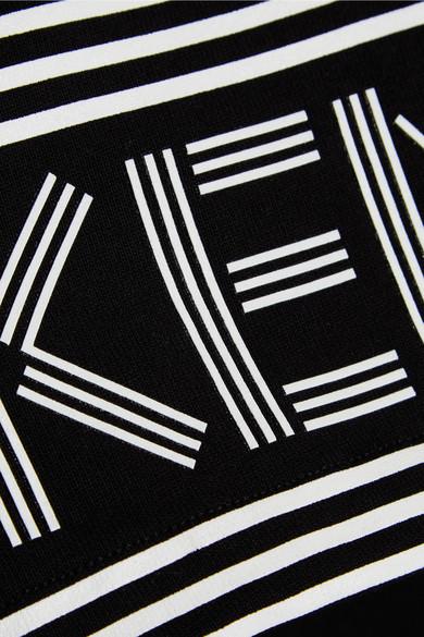 KENZO Bedrucktes Midikleid aus Baumwoll-Jersey