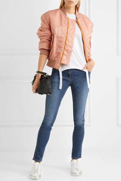 KENZO Bedruckte halbhohe Skinny Jeans Geschäft bc7uu