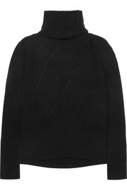 KENZO Convertible wool turtleneck sweater
