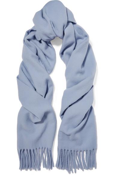 Canada Narrow Fringed Wool Scarf - Lilac Acne Studios pqrpWdHl1N