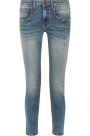 Boy low-rise skinny jeans