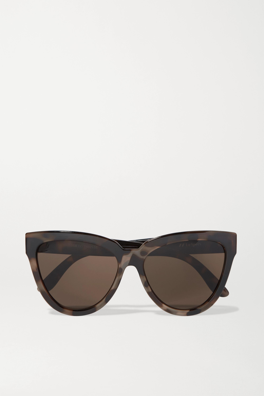 Le Specs Liar Lair cat-eye tortoiseshell acetate sunglasses
