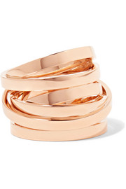 Repossi Technical Berbère 18-karat rose gold ring