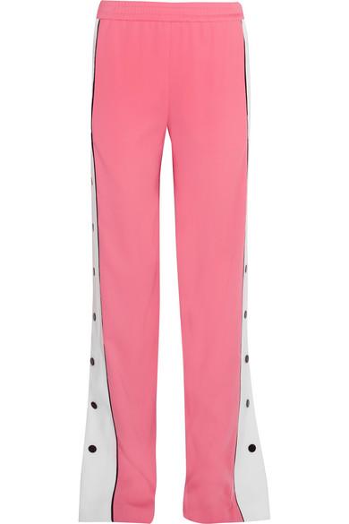 Emilio Pucci - Crepe Track Pants - Bubblegum