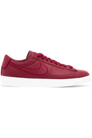 Nike Blazer leather and suede sneakers