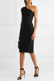 Roland Mouret Brattle one-shoulder stretch-knit dress
