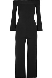 Felbridge off-the-shoulder jersey jumpsuit