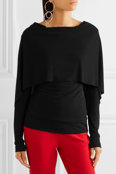 From China Low Shipping Fee Bagnet crêpe top Roland Mouret Outlet fXVaVsA