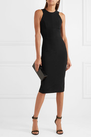 Victoria Beckham Stretch-jersey midi dress