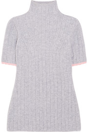 Victoria Beckham Ribbed wool-blend turtleneck sweater