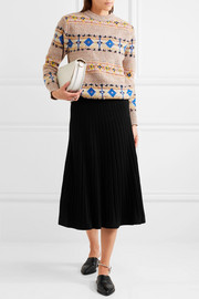 Victoria Beckham Wool and alpaca-blend sweater