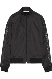 Givenchy Printed satin-jersey jacket