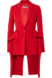 Givenchy Ruffled wool peplum blazer