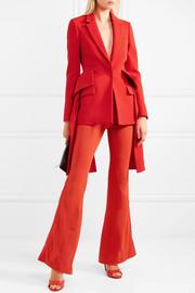 GivenchyRuffled wool peplum blazer