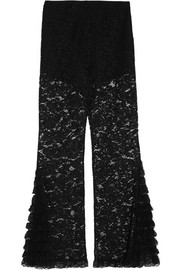Givenchy Lace flared pants
