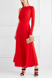 Antonio Berardi One-shoulder crepe midi dress