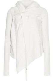 Rick Owens Hooded cotton-jersey cardigan