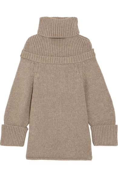 J.W.Anderson - Wool-blend Turtleneck Sweater - Gray