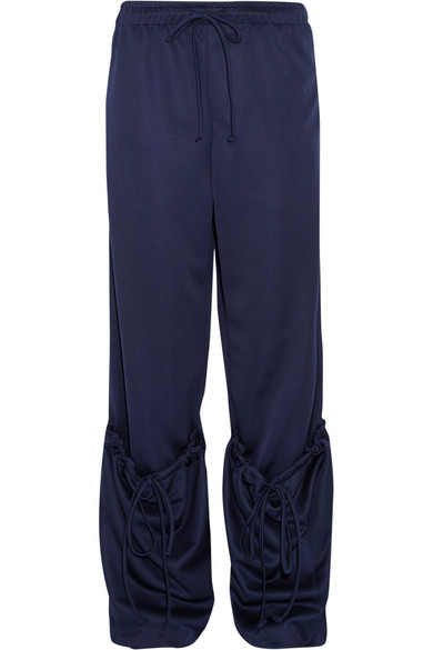 J.W.Anderson - Pocket-detailed Jersey Track Pants - Midnight blue