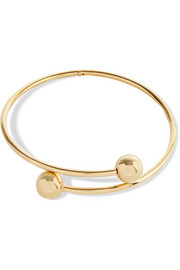 J.W.Anderson Pierce gold-plated choker