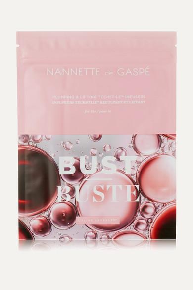 NANNETTE DE GASPÉ Plumping & Lifting Techstile Bust Masque X 3 - Colorless