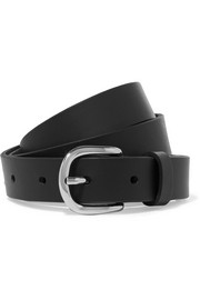 Zap leather belt