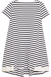 Dixie striped cotton mini dress
