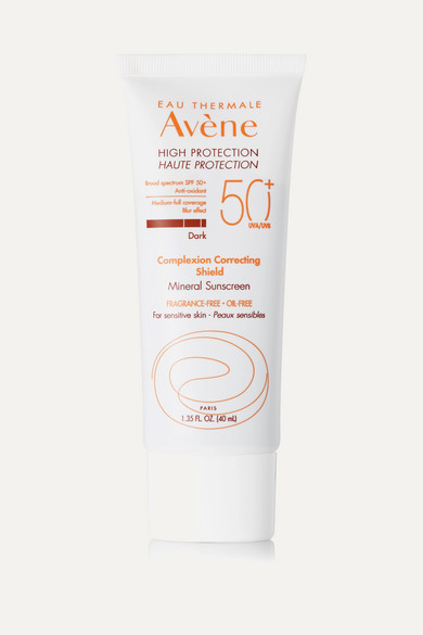 AVENE High Protection Complexion Correcting Shield Spf50 - Dark, 40Ml in Colorless
