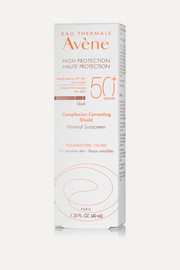 Avene High Protection Complexion Correcting Shield SPF50 - Dark, 40ml