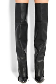 Newton leather over-the-knee boots