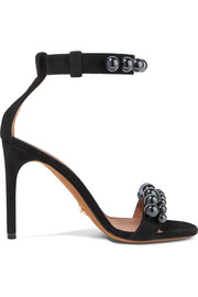 Givenchy Classic Line beaded suede sandals