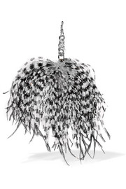 Christopher Kane Feather keychain