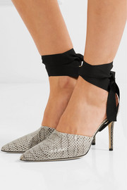 Christopher Kane Watersnake mules
