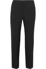 Haider Ackermann Wool-piqué slim-leg pants