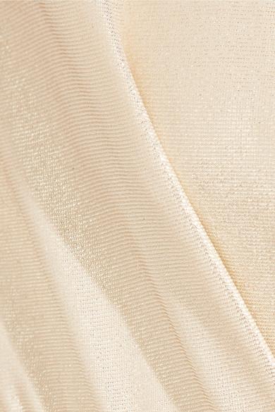 3aaa23d750f Zuhair Murad. Silk-blend lamé jumpsuit.  2