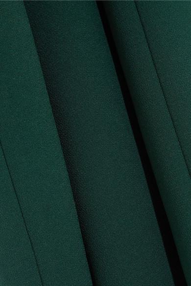 Jenny Packham Verzierte Robe aus Crêpe und Tüll
